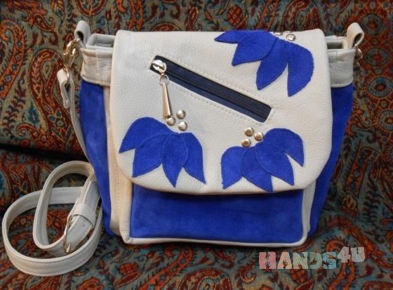Купить Сумка кожаная Подснежники, Кожаные, Повседневные, Женские сумки, Сумки и аксессуары ручной работы. Мастер - - (oriolo) . сумка через плечо