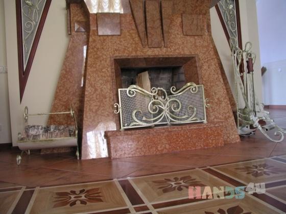 Купить Каминные наборы, Печи, камины, Элементы интерьера, Для дома и интерьера ручной работы. Мастер Stone Decor (Decor-Stone) . металл