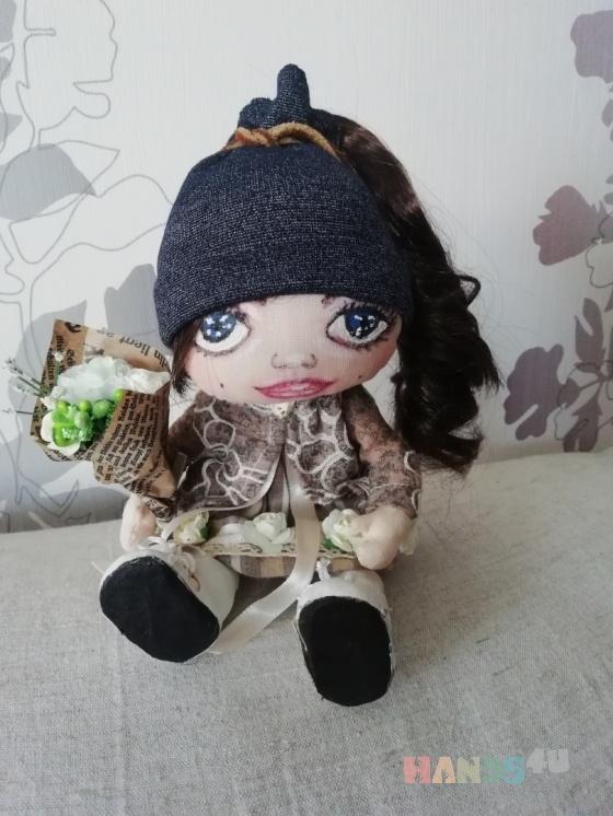 Купить Кукла Соня, Текстильные, Коллекционные куклы, Куклы и игрушки ручной работы. Мастер Татьяна Лымарь (handmade-61) . кукла на заказ