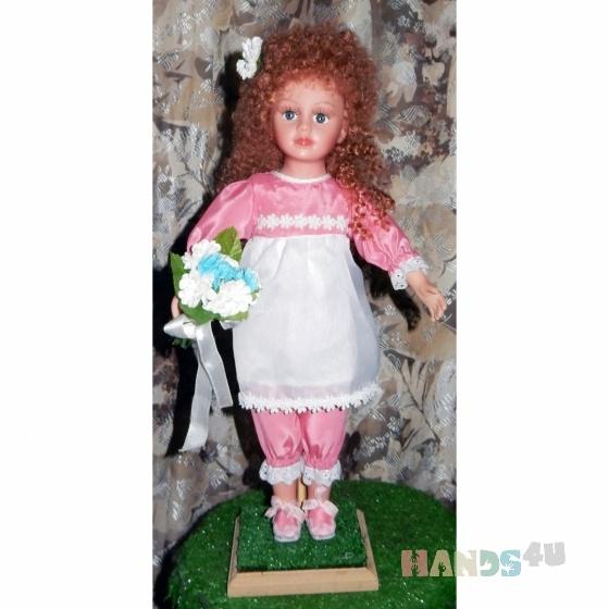 Купить Ангелина, Смешанная техника, Коллекционные куклы, Куклы и игрушки ручной работы. Мастер Наталия Дмитриева (Simona) .