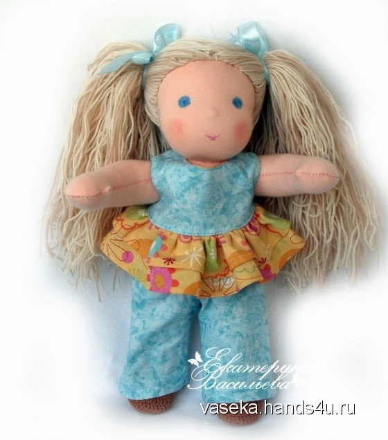 Купить Вальдорфская кукла Аля, Вальдорфская игрушка, Куклы и игрушки ручной работы. Мастер Екатерина Васильева (vaseka) .