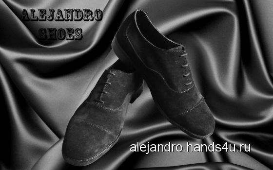 Купить Мужские туфли Classic, Демисезонная обувь, Обувь ручной работы. Мастер Александр Попов (Alejandro) . мужские туфли