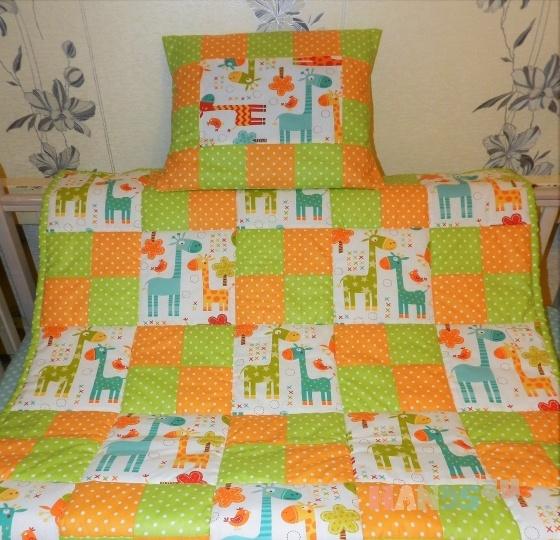 Купить Лоскутное одеяло, Текстиль для детской, Детская, Для дома и интерьера ручной работы. Мастер Татьяна Корепанова (detki-55) . лоскутное одеяло