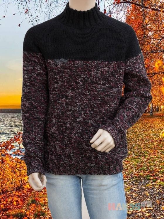 Купить Брутальный мужской свитер, Свитера, Для мужчин, Одежда ручной работы. Мастер Владимир  (Skiff) . мужской свитер крупной вязки