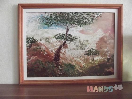 Купить Восточная  живопись, Пейзаж, Картины и панно ручной работы. Мастер Наталья З (Natata72) . пейзаж