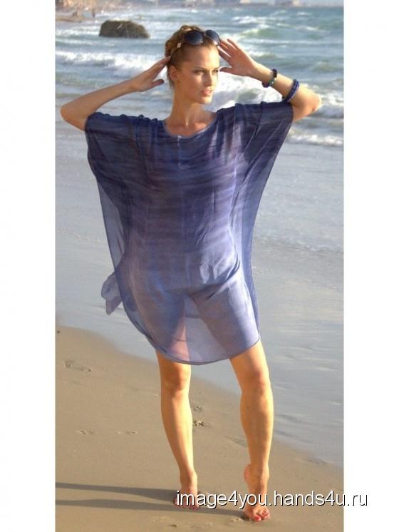 Купить Туника-блуза Аромат бриза, Блузки, Одежда ручной работы. Мастер Лариса Коган (image4you) . пляжная туника