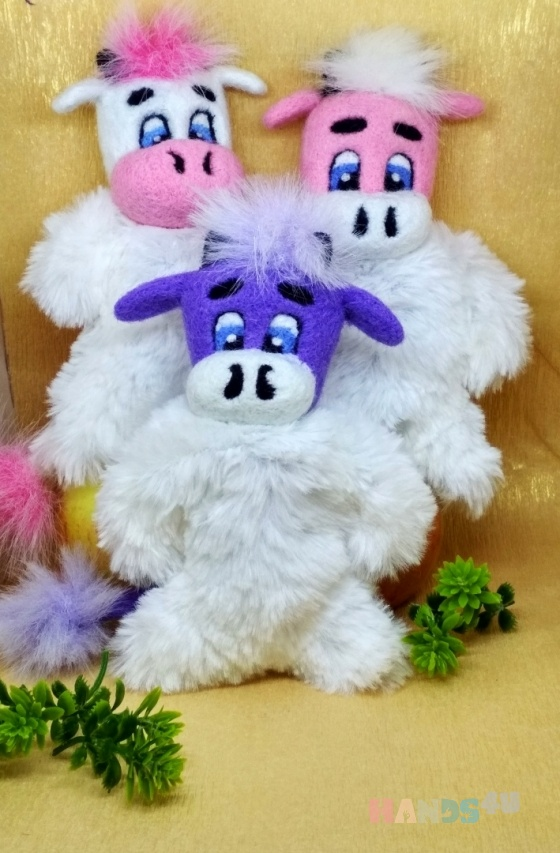 Купить игрушка антистресс, Развивающие игрушки, Куклы и игрушки ручной работы. Мастер Екатерина Шинкаренко (episton2) . коровка