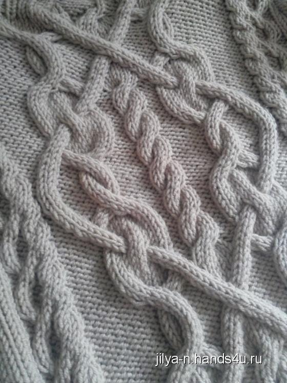 Купить Восхитительный свитер с аранами, Свитера, Кофты и свитера, Одежда ручной работы. Мастер Юлия Новикова (Jilya-N) . кашемир