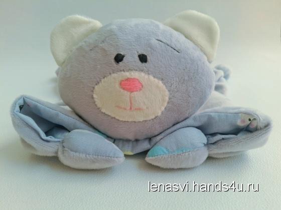 Купить Комфортер сплюшка мягкая игрушка, Мишки, Зверята, Куклы и игрушки ручной работы. Мастер Елена Сви (lenasvi) .