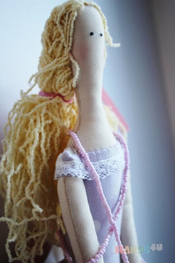 Купить Текстильная кукла Лавандовая фея, Куклы Тильды, Куклы и игрушки ручной работы. Мастер Ксения Суринова (Morty) . интерьерная кукла