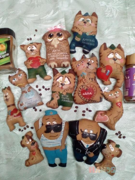 Купить  Чердачная кукла Кофейный позитивчик, Ароматизированные куклы, Куклы и игрушки ручной работы. Мастер Ольга Красницкая (krasoliadoll) . авторский подарок