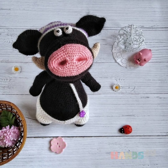 Купить Кабанчик, Другие животные, Зверята, Куклы и игрушки ручной работы. Мастер Аня Филиппова (malyavchik-m) . свинья