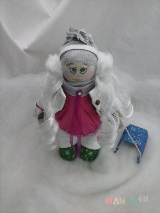 Купить Интерьерная кукла ручной работы, Текстильные, Коллекционные куклы, Куклы и игрушки ручной работы. Мастер Ксения Белослудцева (Ksenia) . текстиль