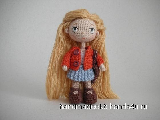 Купить Авторская миниатюрная кукла Эмми, Коллекционные куклы, Куклы и игрушки ручной работы. Мастер Михаил Косарев (HandmadeEkb) . наполнитель холлофайбер