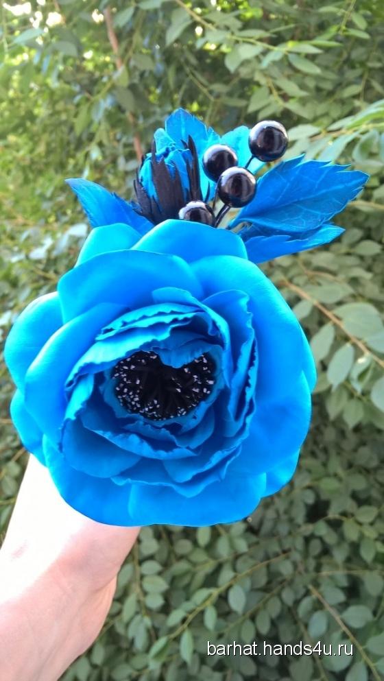 Купить Заколка для волос (обруч 2 в 1) , Заколки, Украшения ручной работы. Мастер Алена Мельник (Barhat) . купить цветы из ткани