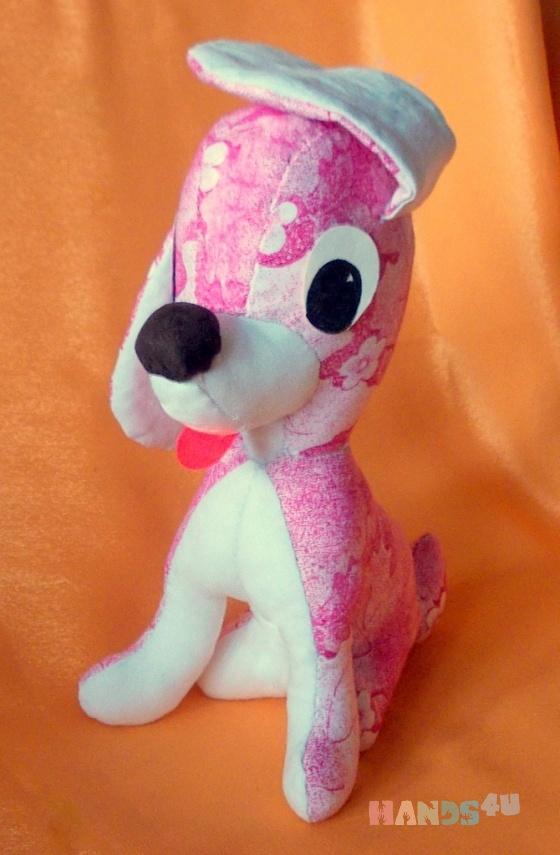 Купить выкройка мягкой игрушки Собачка, Собаки, Зверята, Куклы и игрушки ручной работы. Мастер елена соколова (elena169) . игрушка