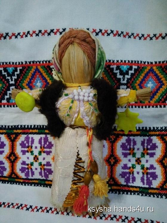 Купить Масленица (оберег жилища), Народные куклы, Куклы и игрушки ручной работы. Мастер Оксана  (Ksysha) . масленица