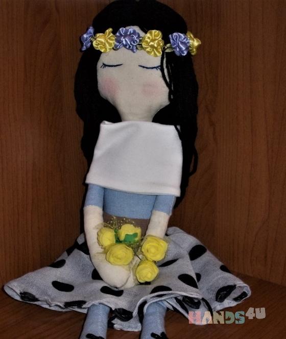 Купить Кукла интерьерная Сония 0303, Куклы Тильды, Куклы и игрушки ручной работы. Мастер Ирина Куликова (Irinakukla) . покупка вас согреет