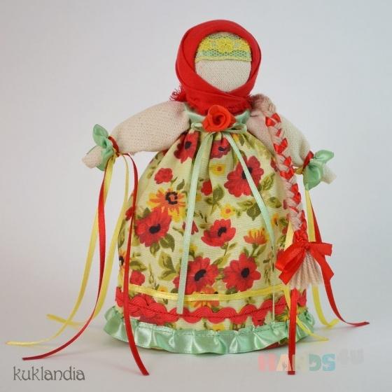 Купить Манилка, Народные куклы, Куклы и игрушки ручной работы. Мастер Виктория К (kuklandia) . хлопок
