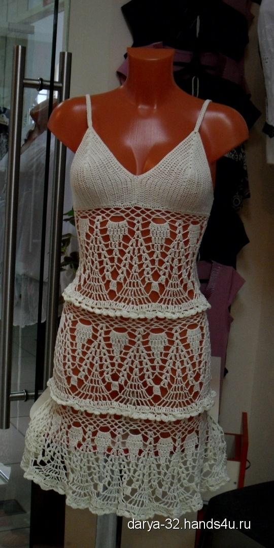 Купить пляжный сарафан, Пляжные, Платья, Одежда ручной работы. Мастер Дарья Амплеева (Darya-32) . авторское платье