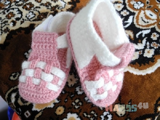 Купить сандалики детские, Пинетки, Для новорожденных, Работы для детей ручной работы. Мастер шерифат ижаева (sheri) . сандалики