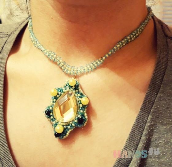 Купить ожерелье, Украшения ручной работы. Мастер худашова айдана (ayka95) .