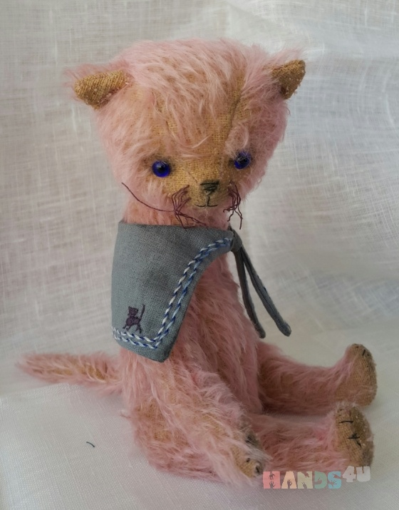 Купить Розовый котик, Друзья Тедди, Мишки Тедди, Куклы и игрушки ручной работы. Мастер Ольга Юзмухаметова (Bozhena23) . друзья тедди
