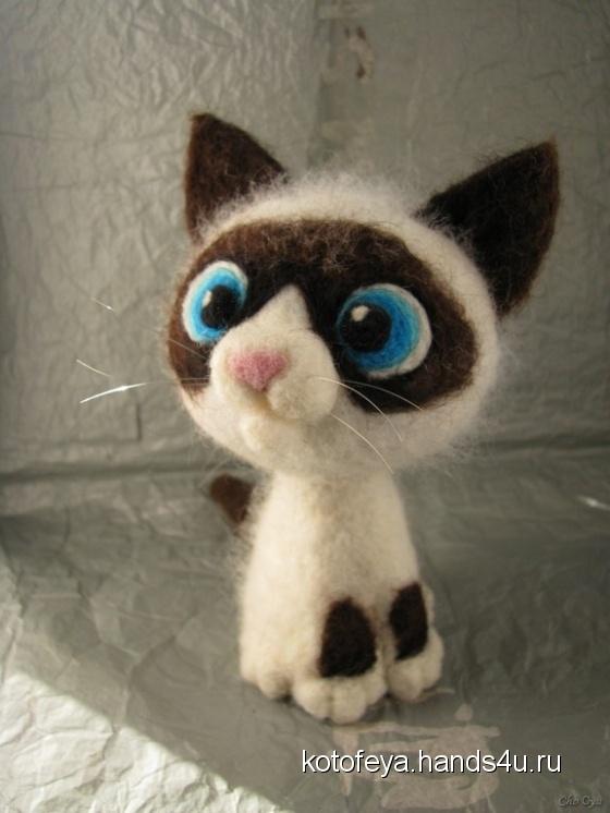 Купить Сноу Шу, Коты, Зверята, Куклы и игрушки ручной работы. Мастер   (KotoFeya) . авторская игрушка
