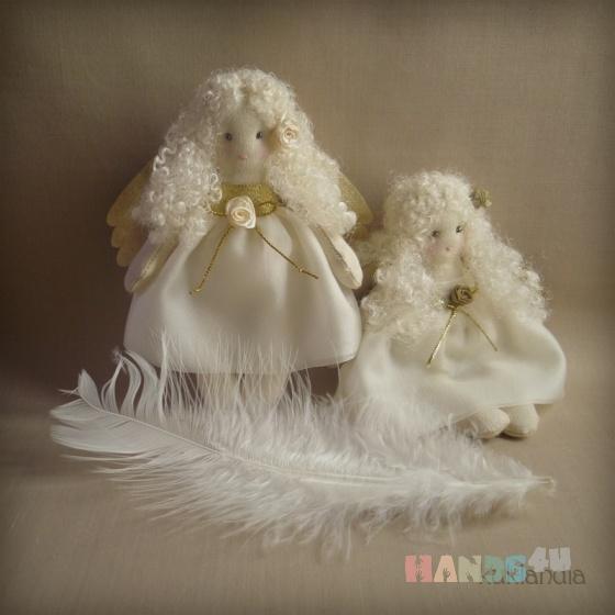 Купить Ангелочки, Ангелы, Сказочные персонажи, Куклы и игрушки ручной работы. Мастер Виктория К (kuklandia) . ангелы