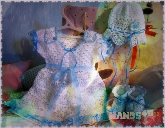 Купить Комплект для новорождённого, Комплекты, Одежда для девочек, Работы для детей ручной работы. Мастер Людмила  (Lyudmila) .