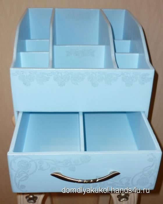 Купить Органайзер для женских мелочей, Мини-комоды, Для дома и интерьера ручной работы. Мастер Елена Криницкая (domdlyakukol) .