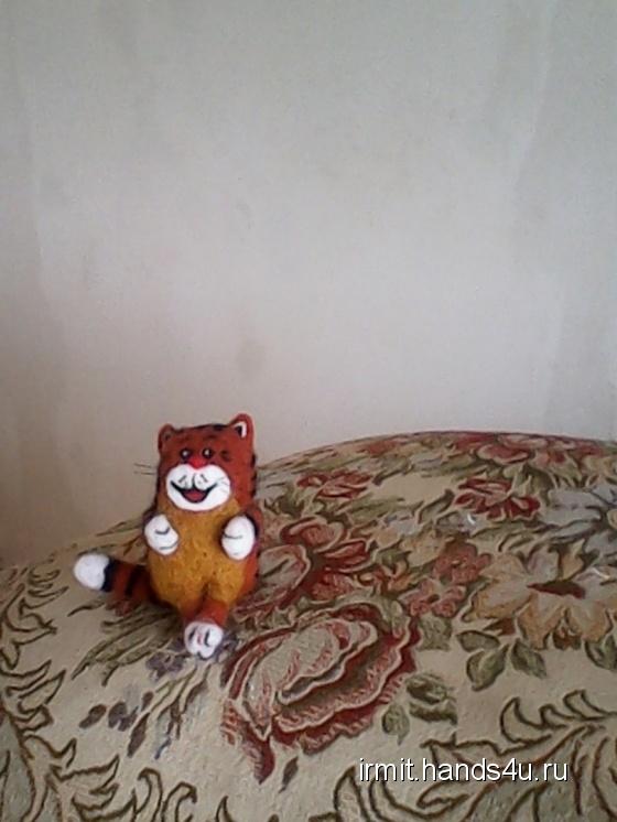 Купить Кот Таити, Мультяшные, Сказочные персонажи, Куклы и игрушки ручной работы. Мастер юлия святогор (IRMIT) . 100 пр шерсть