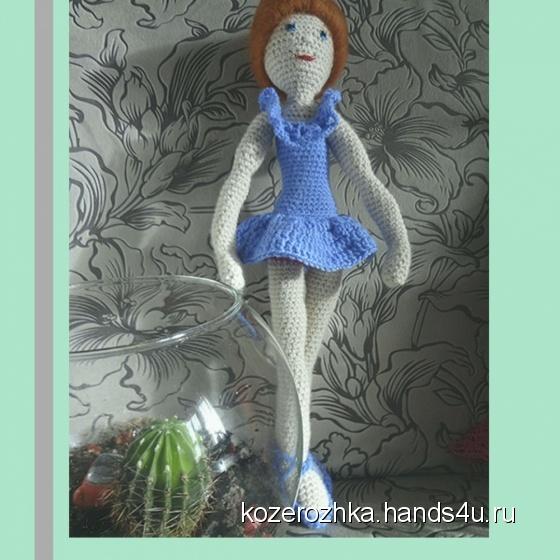 Купить Балерина, Куклы Тильды, Куклы и игрушки ручной работы. Мастер Ольга Жукова (Kozerozhka) .