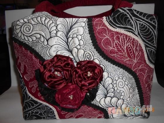 Купить сумка женская Розы, Смешанная техника, Повседневные, Женские сумки, Сумки и аксессуары ручной работы. Мастер ТАТЬЯНА АНИСИМОВА (TATYANA1) . авторская сумка