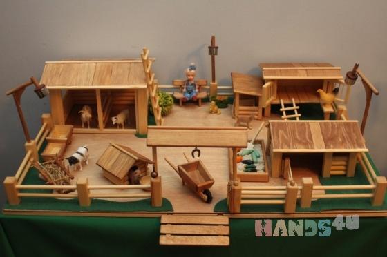 Купить Ваша ферма, Развивающие игрушки, Куклы и игрушки ручной работы. Мастер Виктор Петров (fermer-2) . ферма