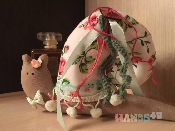 Купить Улитка а стиле Тильда , Другие животные, Зверята, Куклы и игрушки ручной работы. Мастер Елена Камышева (Memory) .