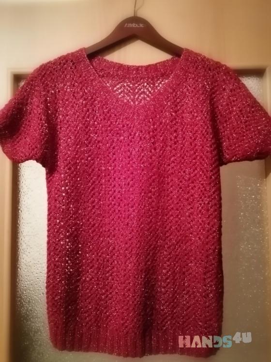 Купить Пуловер Волна, Пуловеры, Кофты и свитера, Одежда ручной работы. Мастер Swetlana Baraban (Yalana) .