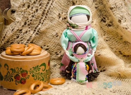 Купить Народная кукла Ведучка, Народные куклы, Куклы и игрушки ручной работы. Мастер Анастасия Миротворцева (Lukovka) . ведучка
