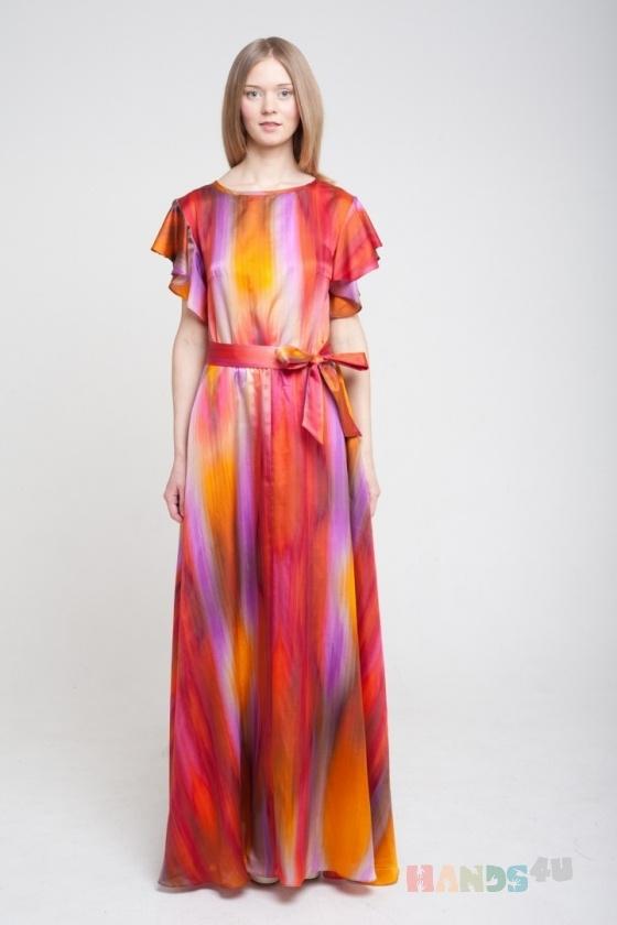 Купить Платье в пол, Шитые, Вечерние, Платья, Одежда ручной работы. Мастер Оксана ЛИ (sanastudio) . авторское платье