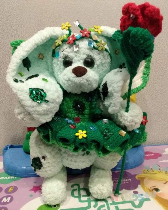Купить игрушка Зайка Рони луговая фея, Зайцы, Зверята, Куклы и игрушки ручной работы. Мастер Джулианна Драгомир (JulsDragomir) .