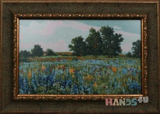 Купить Донское разнотравье, Картины и панно ручной работы. Мастер   (marina598) . вышитые картины