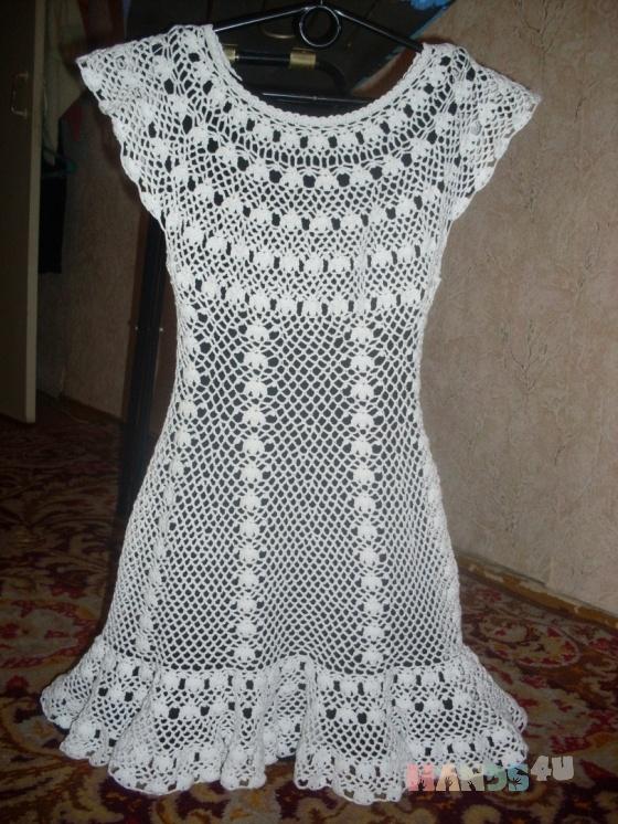 Купить Ажурное платье, Пляжные, Платья, Одежда ручной работы. Мастер   (Olga300476) . ажурное платье