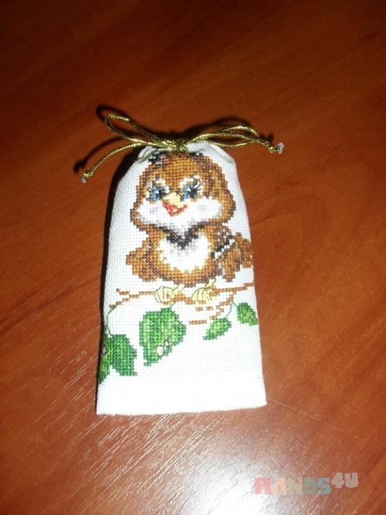 Купить Сумочка для мелочей Воробушек, Подарочная упаковка, Сувениры и подарки ручной работы. Мастер Анна Селезнева (Dobrana) . сумочки