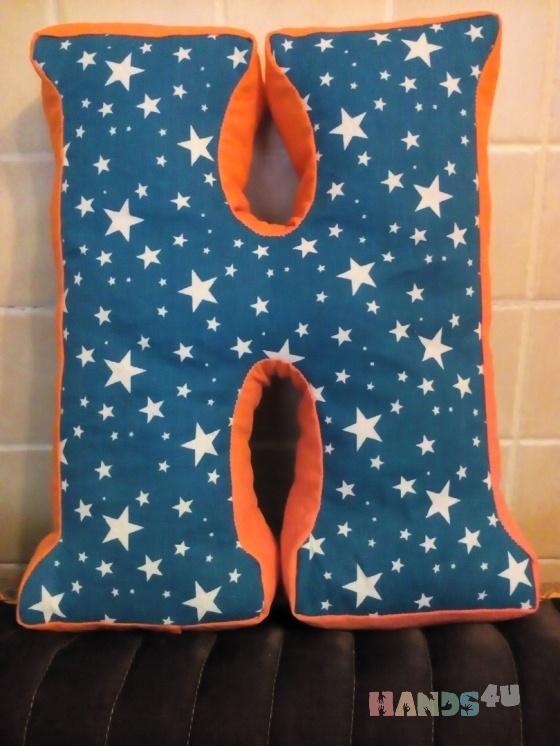 Купить подушки-буквы, Текстиль для детской, Детская, Для дома и интерьера ручной работы. Мастер Larisa Melnikova (lorik60) . подушка-буква