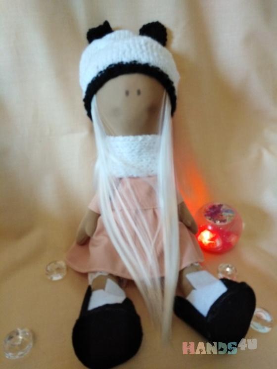 Купить Текстильная кукла Снежка, Куклы Тильды, Куклы и игрушки ручной работы. Мастер Татьяна Кузьмина (Tanja) . кукла текстильная