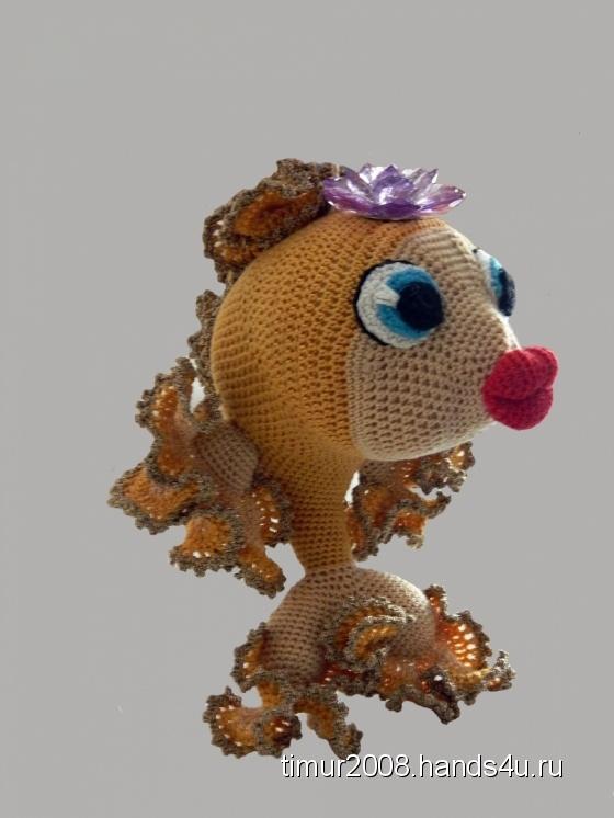Купить Золотая рыбка, Другие животные, Зверята, Куклы и игрушки ручной работы. Мастер Наталья Мех (timur2008) .