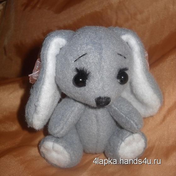 Купить Маленькая зайка Банни, Зайцы, Зверята, Куклы и игрушки ручной работы. Мастер Ольга Колдомаева (4lapka) . зайка