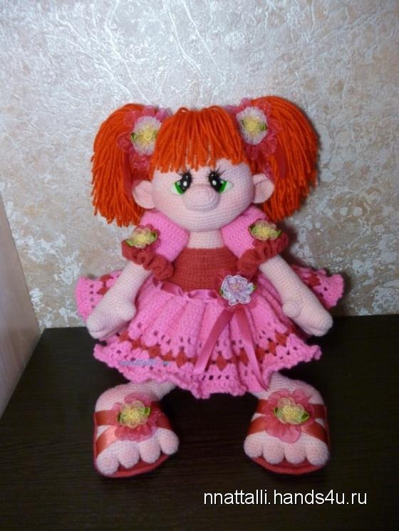 Купить кукла Принцесска Карамелька, Вязаные, Человечки, Куклы и игрушки ручной работы. Мастер Наталья  (nnattalli) . кукла