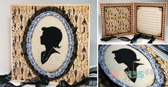 Купить открытка Камея, Открытки для женщин, Открытки ручной работы. Мастер   (Yasenka) .
