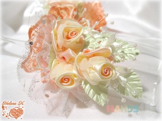 Купить Свадебные бокалы Кремона, Свадебные бокалы, Свадебные аксессуары, Свадебный салон ручной работы. Мастер Елена Халаман (Lenni-vrn) . атласная  лента